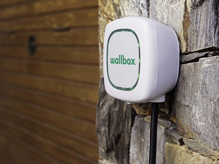 Wallbox home charger