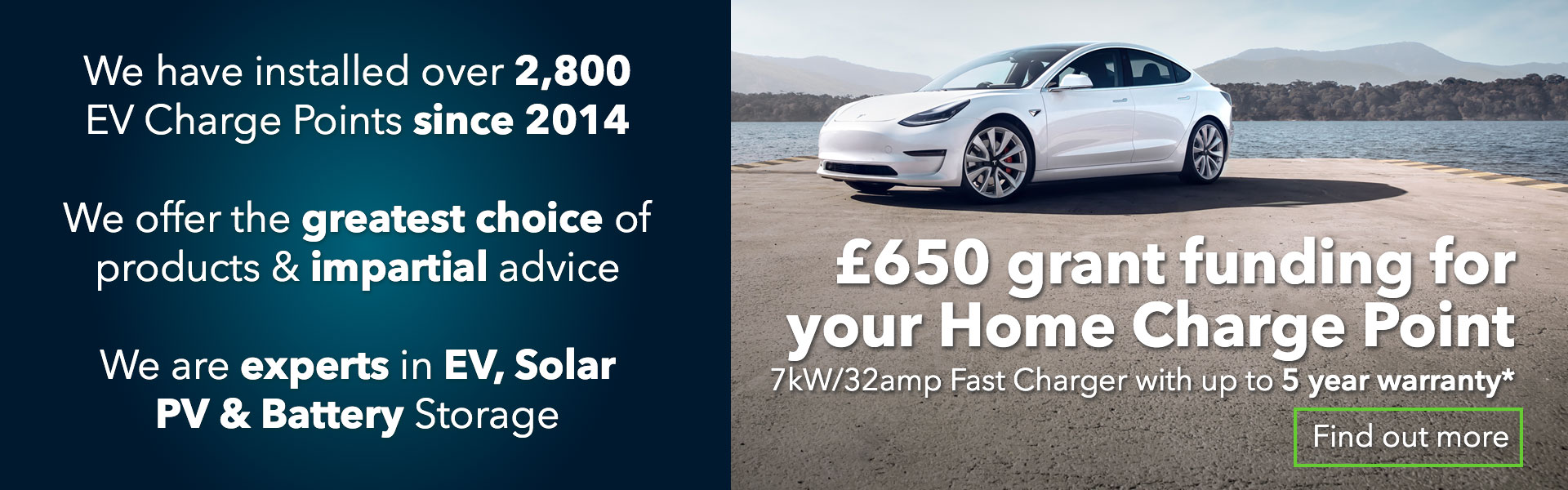 EV Home charger grants